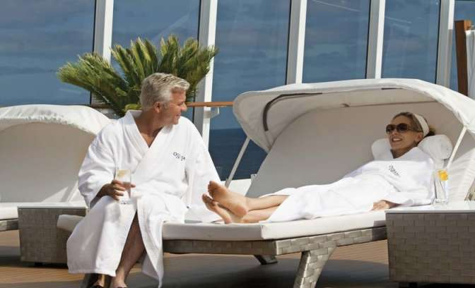 Spa club van rederij Oceania Cruises