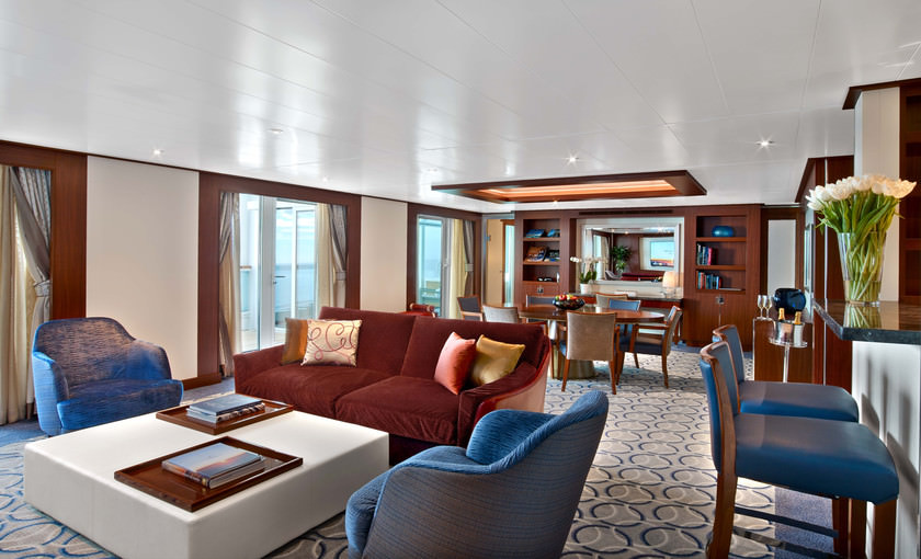 wintergarden suite Seabourn Ovation