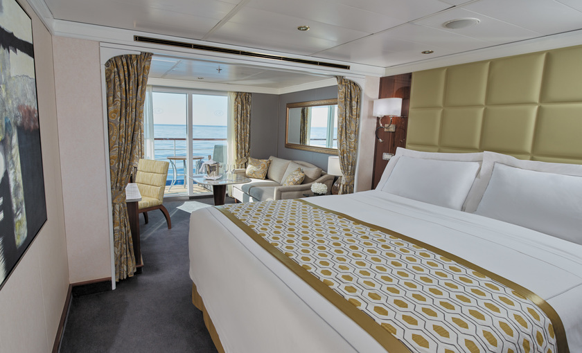 Seven Seas Voyager concierge suite