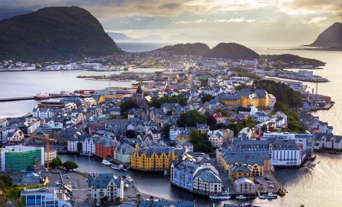 Haven in Alesund